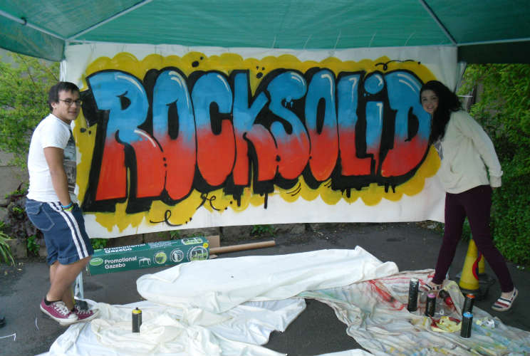 Graffiti art at Rock Solid