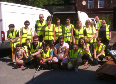 Litter Pick May 2012